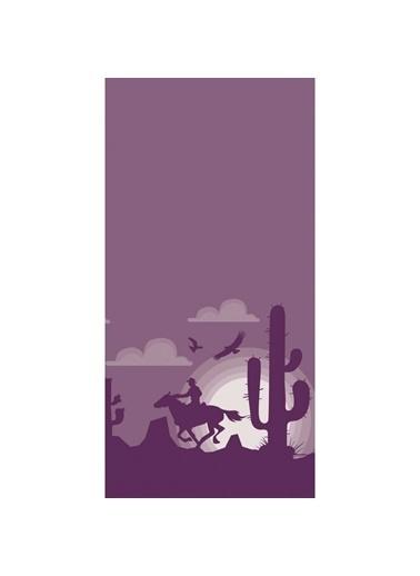Artikel Kovboy Temalı Dekoratif Çift Taraflı Yastık Kırlent Kılıfı 45x45 cm Renkli